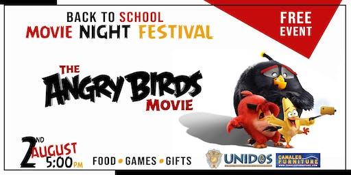 Angry Bird Back to School Movie Night Fest (Richardson)