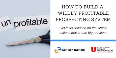 How To Build a Wildly Profitable Prospecting System tickets