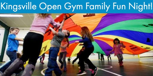 Kingsville Autism Ontario Open Gym Family Fun - November
