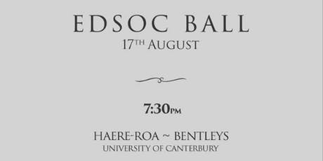 EdSoc Ball tickets