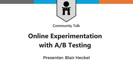 Meetup: Online Experimentation with A/B Testing tickets