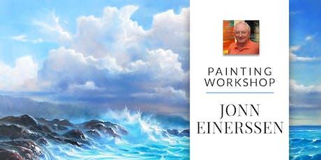 Painting Workshop with Artist Jonn Einerssen tickets