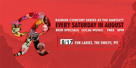 Rainier Summer Concert Series / Fun Ladies, The Emilys & PIT tickets