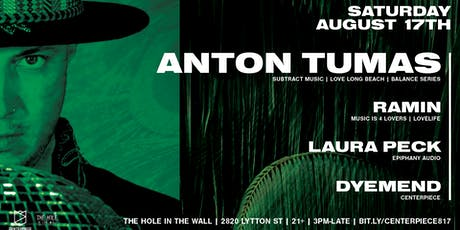 Centerpiece Presents: Anton Tumas tickets