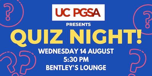 UC PGSA Quiz Night