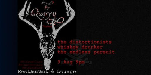 Distortionists, Whiskey Drunker, and the Endless Pursuit at the Quarry