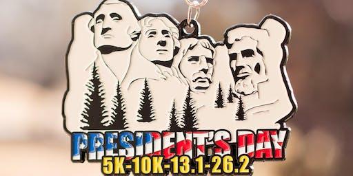 Now Only $12! 2019 President's Day 5K, 10K, 13.1, 26.2 -Phoenix