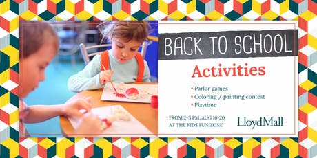 BACK TO SCHOOL INTERACTIVE PROGRAM tickets