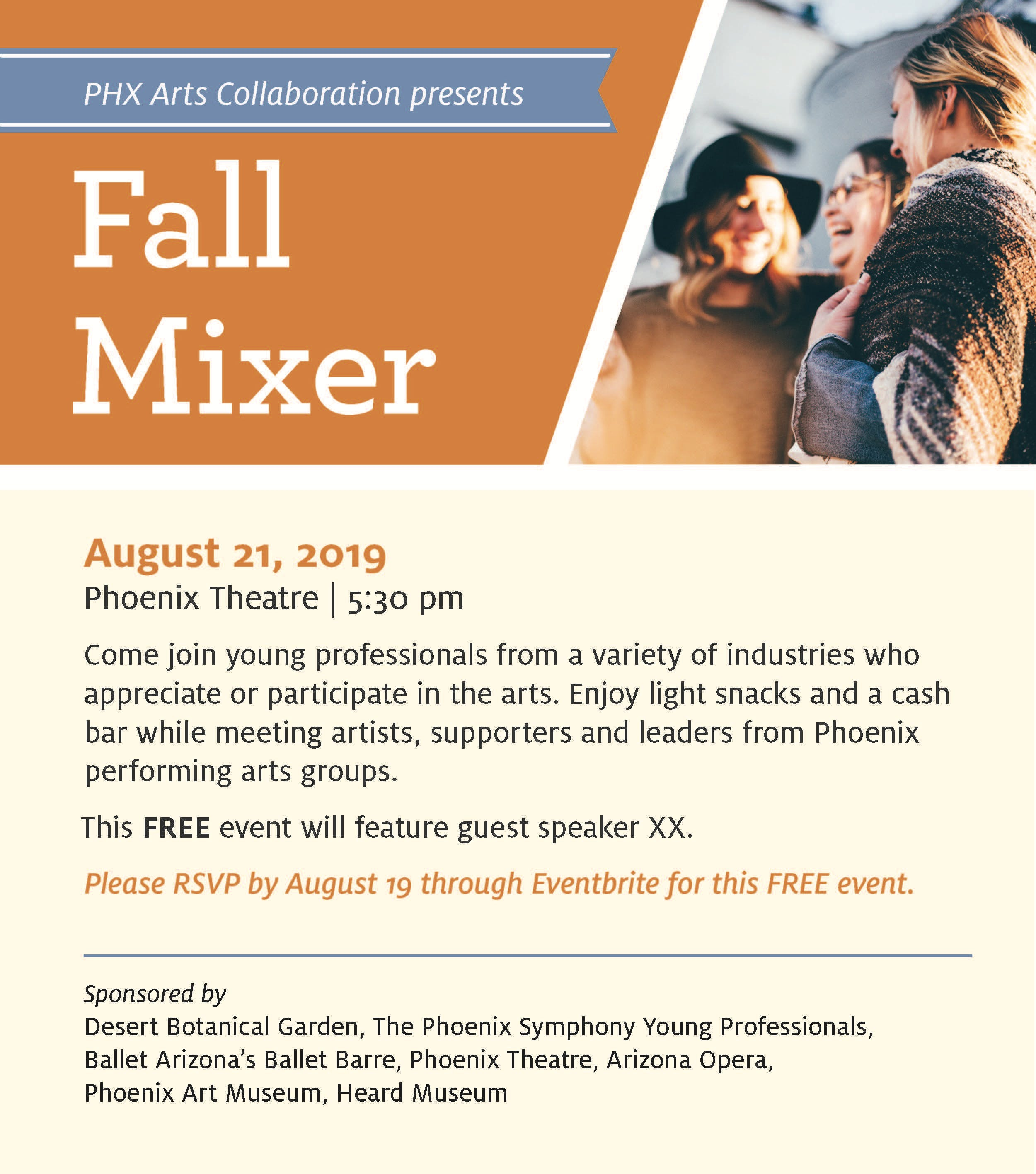 PHX Arts Collaboration Fall Mixer 2019 with Secretary of State Katie Hobbs