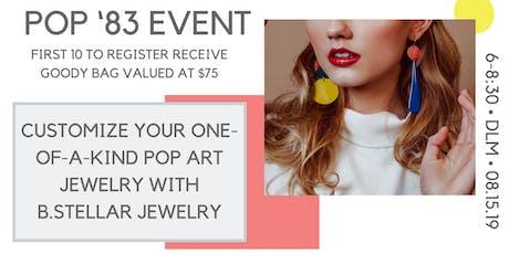 Jewelry Customization with the Designer of B. Stellar Jewelry tickets
