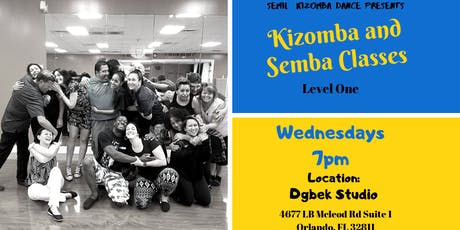 Kizomba and Semba Dance Classes tickets