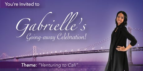 Gabrielle's Going-Away Celebration tickets