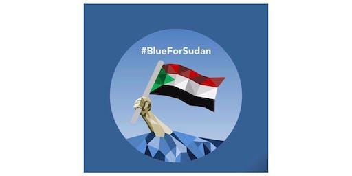 PAINT DC BLUE FOR SUDAN