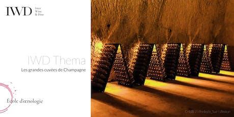 IWD Thema - Les grandes cuvées de Champagne tickets