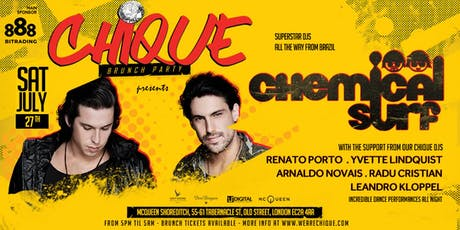 Chique presents CHEMICAL SURF Brunch party tickets