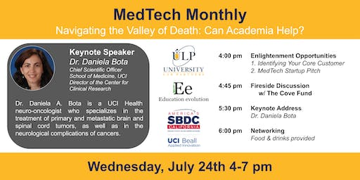 MedTech Monthly - Navigating the Valley of Death: Can Academia Help?