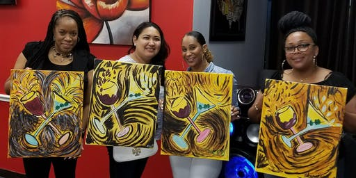 Friday Night Paint & Sip | Missouri City ($25)