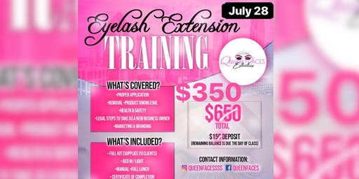 Eyelash Extension Training *Sale*