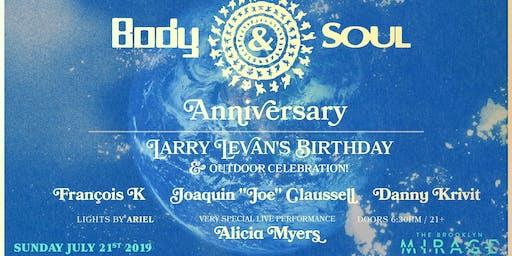 Body & Soul Anniversary