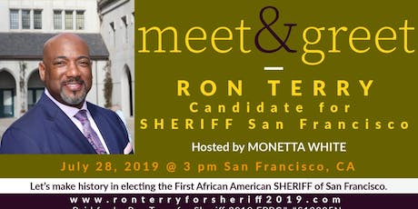 Meet RON TERRY | Candidate for SHERIFF of San Francisco tickets