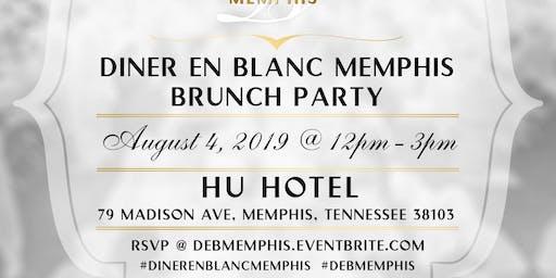 Diner en Blanc Memphis Brunch Party