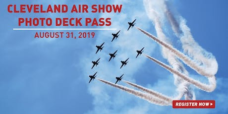 Pixel Connection's Air Show Photo Deck Pass tickets