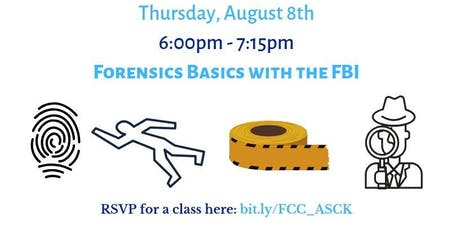 Forensics Basics with the FBI  tickets