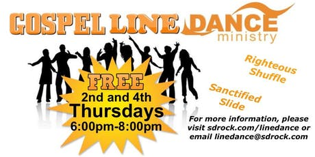 Gospel Line Dancing tickets