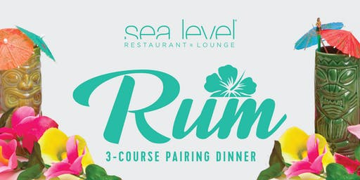 Rum Dinner at Sea Level Restaurant and Lounge