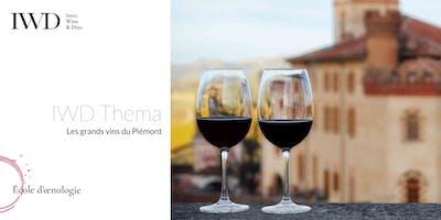 IWD Thema - Les grands vins du Piémont
