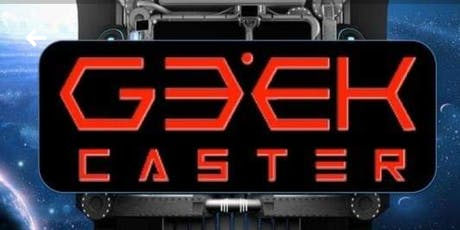 Geekcaster Happy Hour tickets