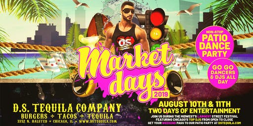 D.S. Tequila Market Days Patio Party 2019
