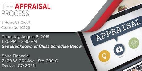 Appraisal Process CE Bus Trip tickets