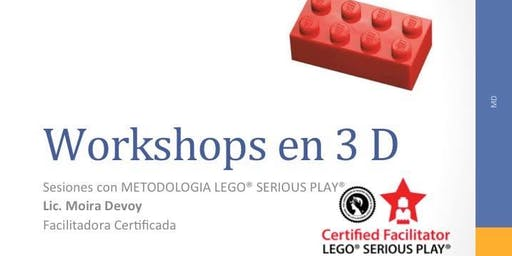 "Workshop 3D ""Innovar con LEGO® SERIOUS PLAY® "" Septiembre"