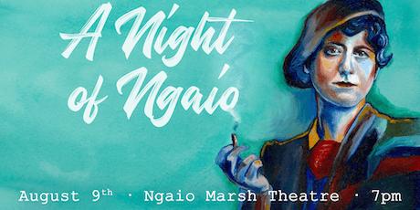 A Night of Ngaio: Celebrating Ngaio Marsh tickets