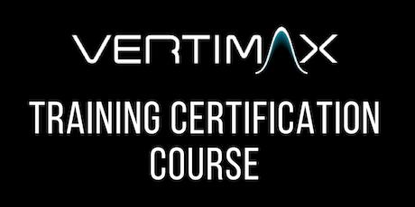 VERTIMAX Training Certification Course - Orlando, FL tickets