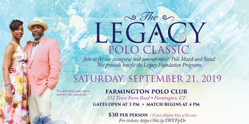 Inaugural Legacy Polo Classic