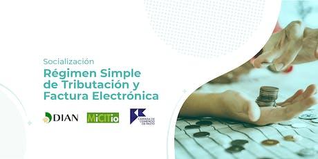 Régimen Simple de Tributación y Facturación Electrónica entradas