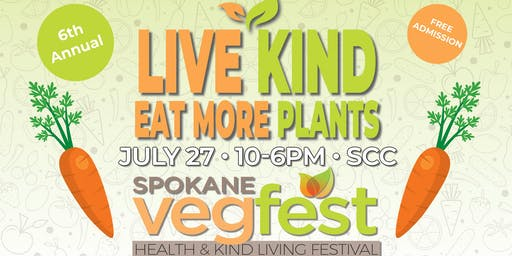 Spokane VegFest: Health and Kind Living Festival