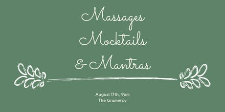 Massages, Mocktails, and Mantras tickets