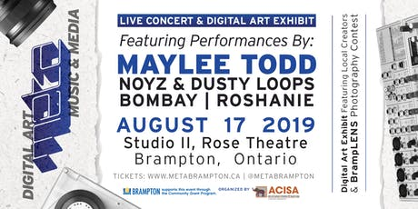 META Brampton: Concert/Digital Art Showcase tickets