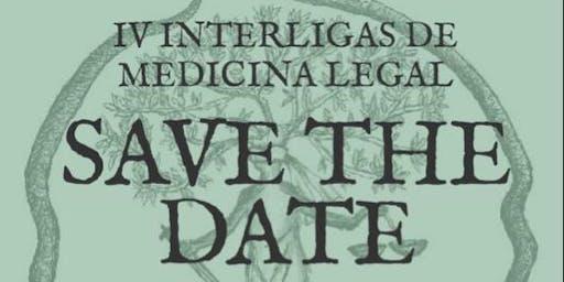 IV INTERLIGAS DE MEDICINA LEGAL