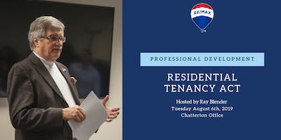 Professional Development - Residential Tenancy Act