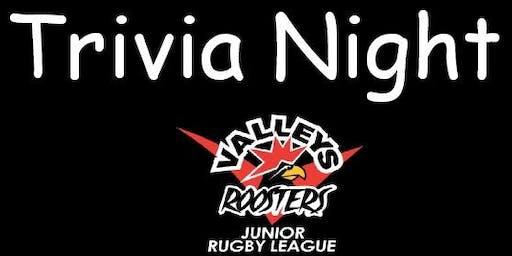 Valleys Juniors Trivia Night!
