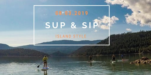 SUP & SIP Stand Up Paddle Happy hour!