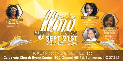 """I'm in my flow""2019 Business Expo"
