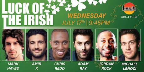 Chris Redd, Amir K, Adam Ray, and more - Luck of the Irish! tickets
