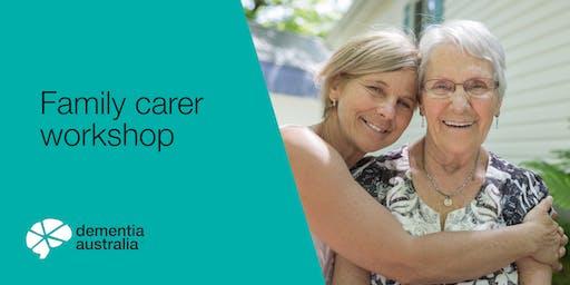 Family carer workshop - Strathalbyn - SA