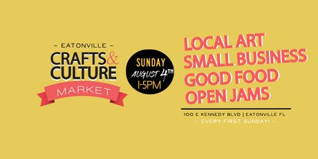 Eatonville Crafts & Culture Market tickets
