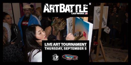 Art Battle Las Vegas - September 5, 2019